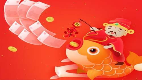 小红淘怎么赚钱?合成游戏玩法,财神每天分红广告188元-微线报